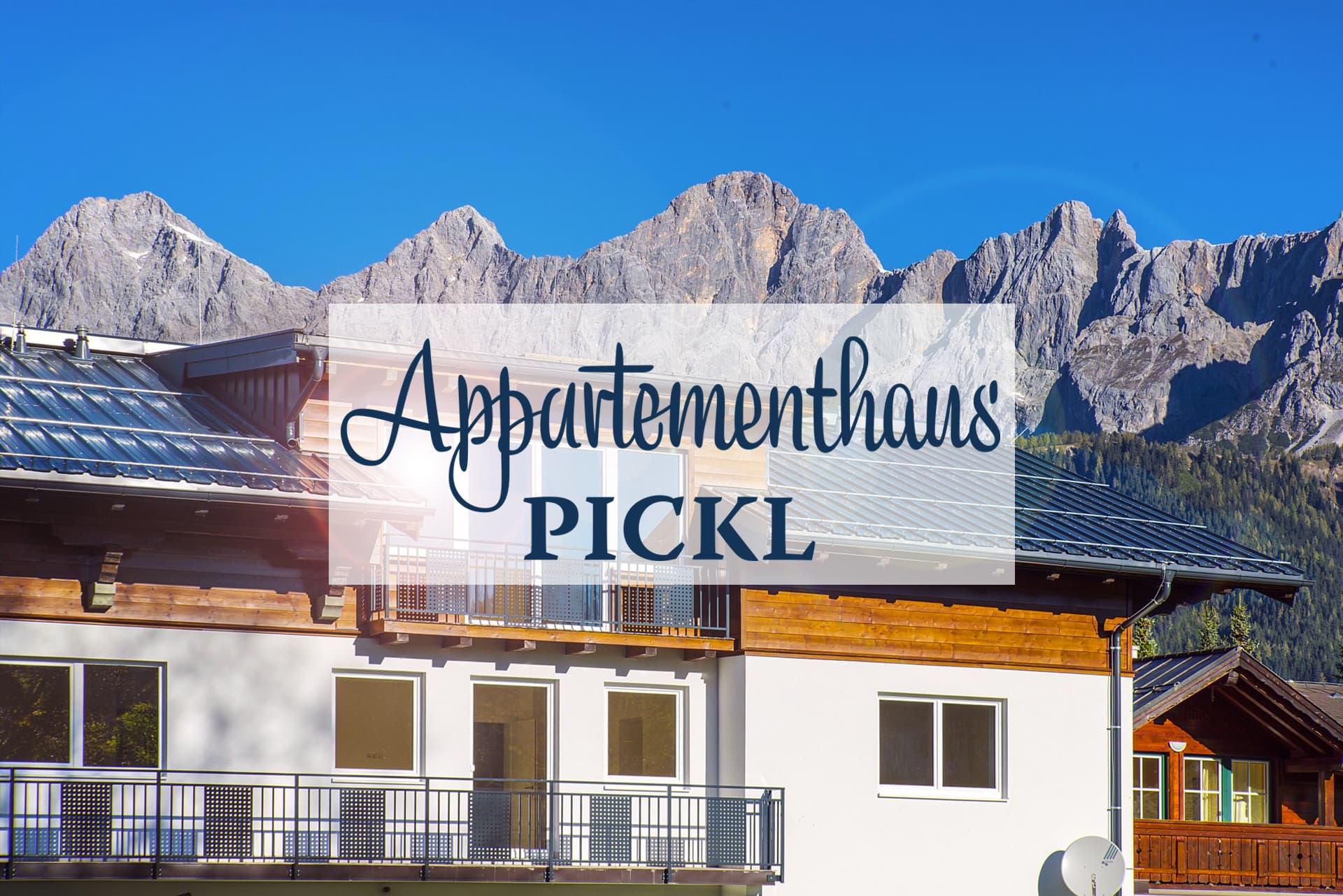 Appartements Pickl in Ramsau Vorberg